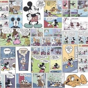 Papel Pintado Mickey Mouse FANTASY DECO DY3011-1